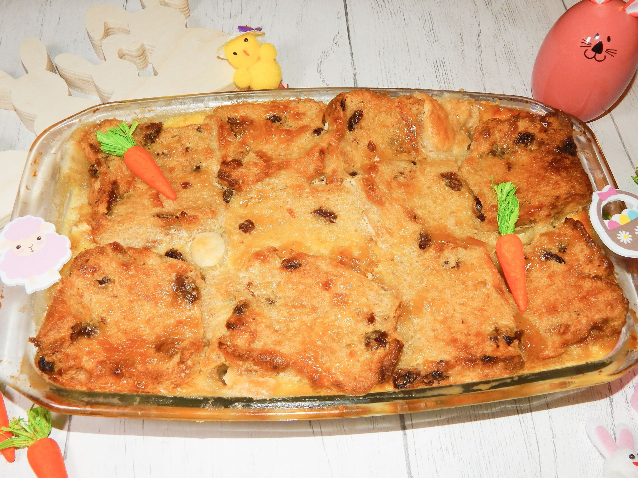 Hot Cross Bun & Butter Pudding | Easter Bakes!
